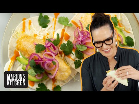 The CRISPIEST Beer Battered Fish for the Ultimate Fish Taco | Marion's Kitchen