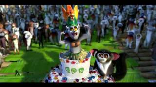 King Julian Madagascar  shake senora remix HD 720p Pitbull ft T-Pain Sean Paul