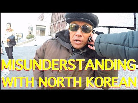The misunderstanding phone call with a North Korean man