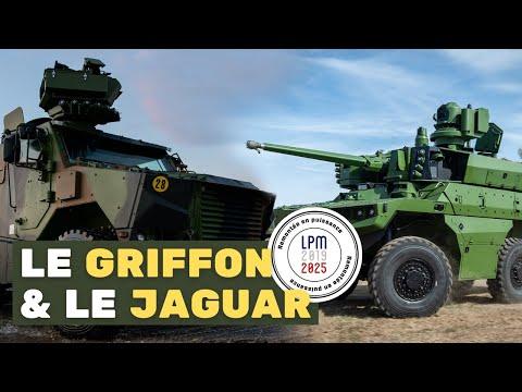 Le ministre de la Défense dévoile le GRIFFON et le JAGUAR