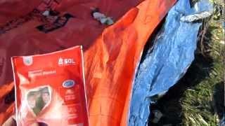 Обзор спасательного одеяла Medical Kits