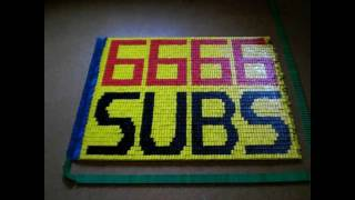 Domino Day 2011 - 6,666 Subscribers - Thank you!