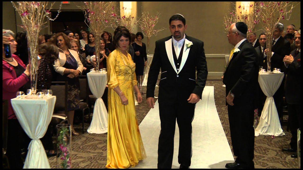 Chicago Sephardic Wedding VIdeography Jewish Orthodox