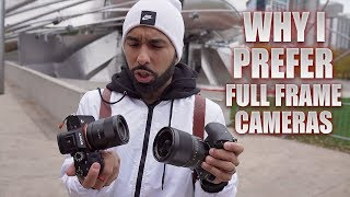 Why I prefer FULL FRAME over crop sensor cameras!