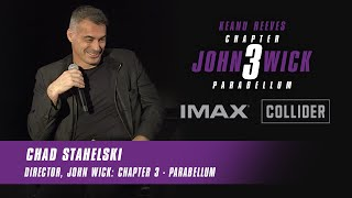 John Wick Director Chad Stahelski | Audience Q&A | Brought To You By IMAX® & Collider.com