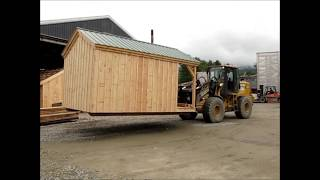 Post And Beam Shed Move