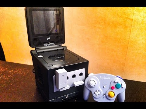 Gamecube NTSC region-free + écran Intec (alim unique)