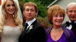 Judge Judy Gets Emotional at Grandson's Wedding