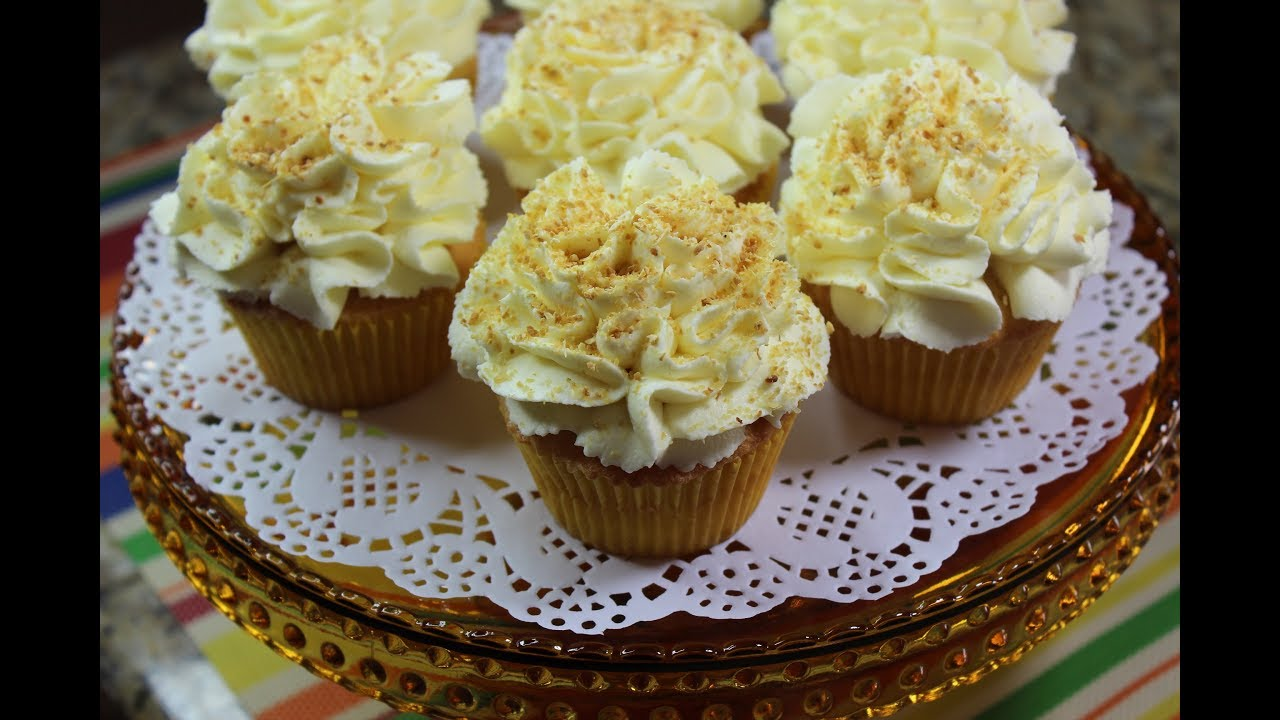Sponge Cake Recipe Lemon Curd: Lemon Curd Cupcakes/Sponge Cake Recipe/With Lemon Curd
