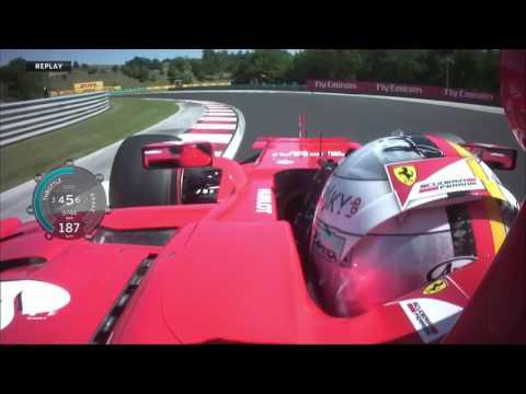 Sebastian Vettel's Pole Lap   2017 Hungarian Grand Prix