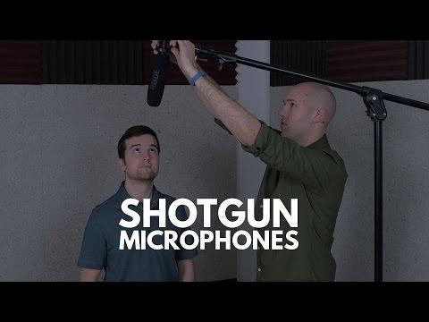 Audio Recording Tips: Shotgun Microphones