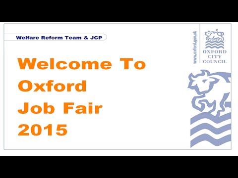 The Oxford Job Fair 2015