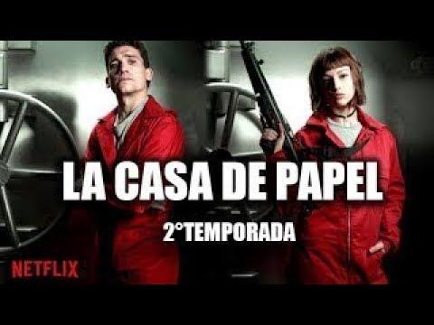 La casa de papel 2 temporada trailer oficial hd netflix youtube - La casa de papel temporada 2 capitulo 1 ...