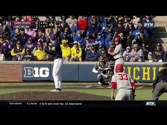 Ohio State at Michigan - Baseball Highlights