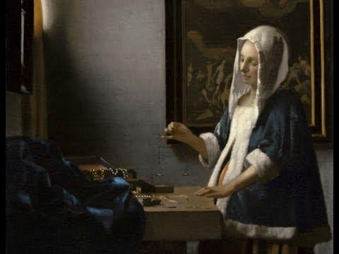 Johannes Vermeer, Woman Holding a Balance