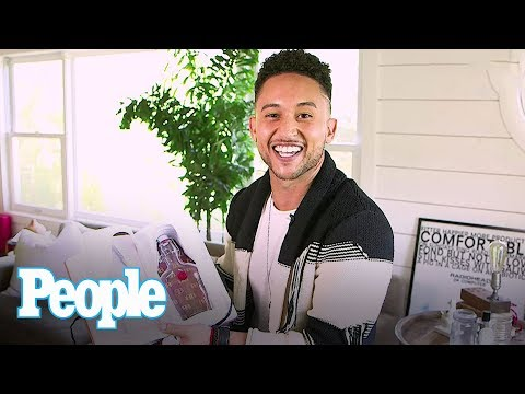 Baby Daddy: Tahj Mowry Shows Off His Prized Possessions & More At Home | Hollywood at Home | People