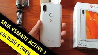 Mình mua Vsmart Active 1 với giá dưới 4 TRIỆU mới tinh luôn
