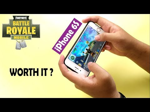 Test Play Fortnite Mobile On IPhone 6S! (2019)