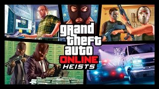 Grand Theft Auto Online: Heists-Trailer