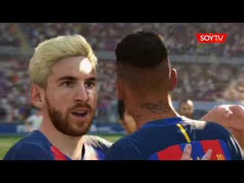 Amarilla para Vidal y Messi rubio en nuevo tráiler de FIFA 17
