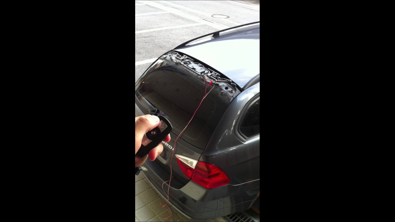 bmw e91 2006y remote key function repair result rh youtube com BMW E91 BMW E90 M3