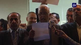 وقفة احتجاجية تطالب بإلغاء معاهدة وادي عربة - (27-10-2019)