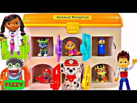 Thumbnail: Best Learning Colors Video for Children - Paw Patrol Sick Need Help in Animal Hospital