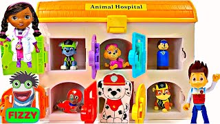 Best Learning Colors Video for Children  - Paw Patrol Sick Need Help in Animal Hospital