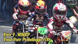 Race 9 : MiniGP Road Race Probolinggo 2018