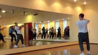 Видео урок, обучение хип хоп, уличные танцы.  Хореограф Астафьев Антон. Реутов. Москва.