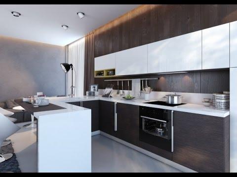 10 Small Kitchen Design Ideas   IKEA Kitchens 2016 - YouTube