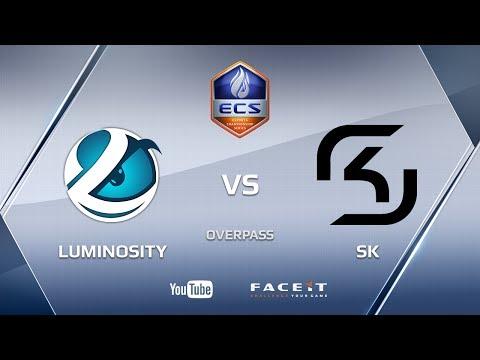 Luminosity vs SK, overpass, ECS Season 3 NA | by OkrOha