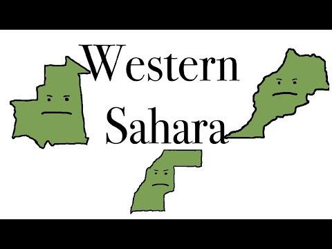 Western Sahara, The Weird Spot on World Maps.
