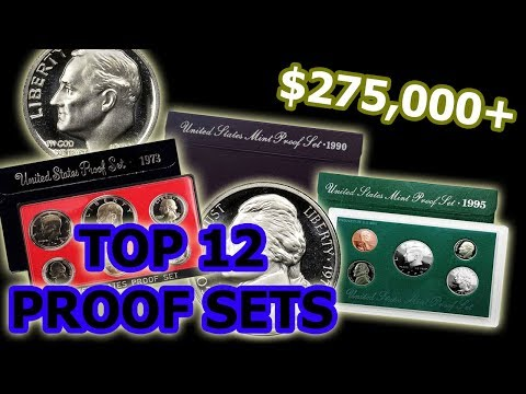 12 Rare & Valuable Proof Sets Worth Money YOU Should Be Checking