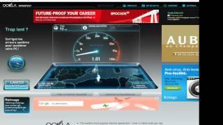 test algerie telecom 10mb - Internet Adsl