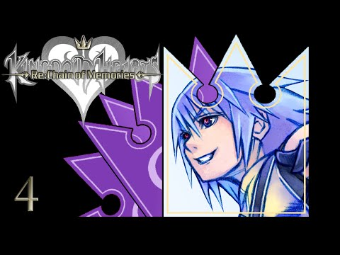 WE WERE FRIENDS - Let's Play - Kingdom Hearts Re:Chain of Memories HD - 4 - Playthrough