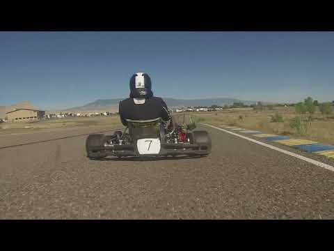 Colorado Karting Tour - LO206 Heavy Round 3 Heat 1 - Grand Junction Motor Speedway