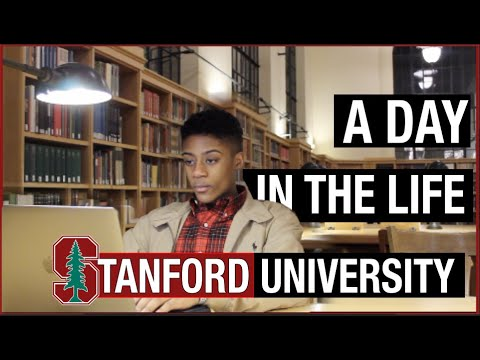 A Day in the Life of a Stanford University Student