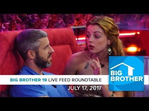Big Brother 19 | Monday LFC Roundtable | July 17, 2017