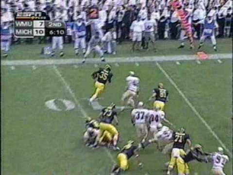 2001: Michigan 38 WMU 21