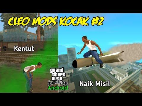 5 Mods Kocak (Funny Mods) #2 - GTA SA Android