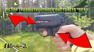 Травматический пистолет ОСА (ОБЗОР) ЧАСТЬ 1 оружие самообороны