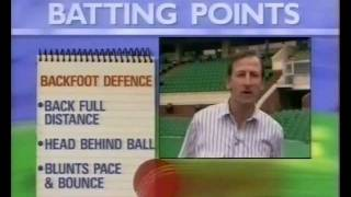 BILL LAWRY & IAN CHAPPELL - BATTING LESSONS FROM THE GREATS
