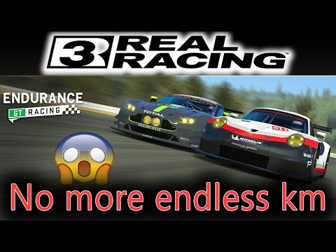 No More Endless Endurance Races In Real Racing 3....for Now