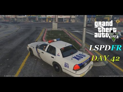 LSPDFR 0.2b - Day 42 - Philadelphia Police Patrol - Crazy High Speed Chase