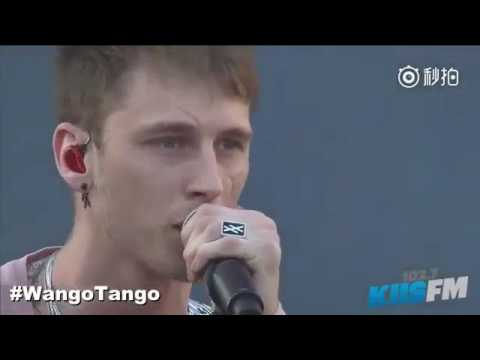 Machine Gun Kelly,Hailee Steinfeld Ft.Let You Go At Wango Tango 2017 Singing At My Best