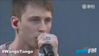 machine gun kelly hailee steinfeld ft let you go at wango tango 2017 singing at my best