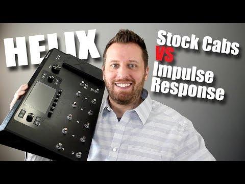 Line 6 HELIX - Stock Cab vs Impulse Response Blind Test!!