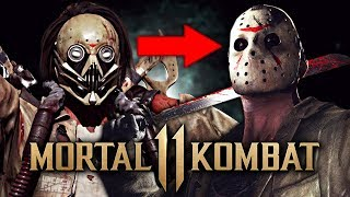 Mortal Kombat 11 - Jason Voorhees Easter Egg, Klassic Purple Staff & MORE!!