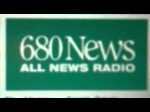 CFTR - 680 News Top of the Hour ID for 5/29/2011 at 10:00 PM EDT